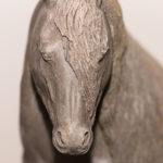 trait mulassier poitevin (1) – nadine janin – atelier raku animaux