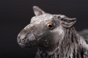 Mouton Lincoln Longwool - Pièces de Nadine JANIN