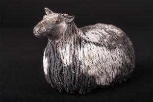 Mouton Lincoln Longwool - Pièce de nadine JANIN