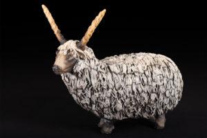 Mouton Racka de Valachie - Pièce de Nadine JANIN